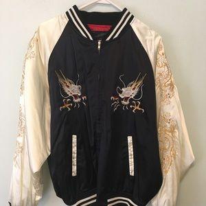 Vintage Japanese bomber jacket